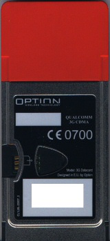 Option 3G Datacard